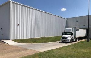 Faurecia storage building photo